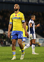 Leeds United's Kemar Roofe cuts a dejected figure<br /> <br /> Photographer David Shipman/CameraSport<br /> <br /> The EFL Sky Bet Championship - West Bromwich Albion v Leeds United - Saturday 10th November 2018 - The Hawthorns - West Bromwich<br /> <br /> World Copyright © 2018 CameraSport. All rights reserved. 43 Linden Ave. Countesthorpe. Leicester. England. LE8 5PG - Tel: +44 (0) 116 277 4147 - admin@camerasport.com - www.camerasport.com