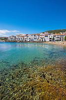 Spain, Costa Brava, Catalonia, Cadques. Harbor.