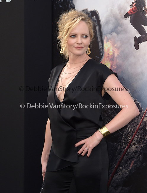 Marley Shelton attends The Warner Bros. Pictures World Premiere of San Andreas held at the TCL Chinese Theatre  in Hollywood, California on May 26,2015                                                                               © 2015 Hollywood Press Agency