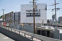 Tijuana. Crossing the border from Tijuana, Mexico to San Diego, USA.