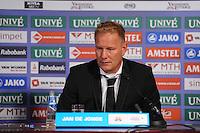 VOETBAL: HEERENVEEN, 18-08-2013, SC Heerenveen - Heracles 2-4, Heracles coach Jan de Jonge, ©foto Martin de Jong