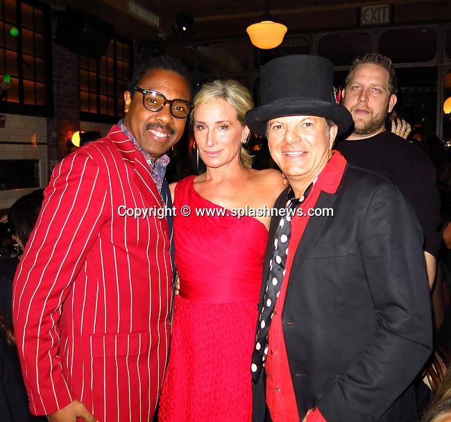 EXCLUSIVE: Rocco Ancarola' Birthday Party ''Horror Picture Show'  at Italian Riviera<br />Lavo Restaurant.<br /><br />Pictured: Jeffery Dread, Sonja Morgan and Rocco Ancarola<br />Ref: SPL638663  271013   EXCLUSIVE<br />Picture by: CelebrityVibe / Splash News<br /><br />Splash News and Pictures<br />Los Angeles:310-821-2666<br />New York:212-619-2666<br />London:870-934-2666<br />photodesk@splashnews.com