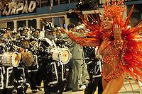 SAO PAULO, SP, 19 DE FEVEREIRO 2012 - CARNAVAL SP - GAVIOES DA FIEL -Sabrina Sato, Desfile da escola de samba Gavioes da Fiel na segunda noite do Carnaval 2012 de São Paulo, no Sambódromo do Anhembi, na zona norte da cidade, neste domingo.(FOTO: ADRIANO LIMA  - BRAZIL PHOTO PRESS).