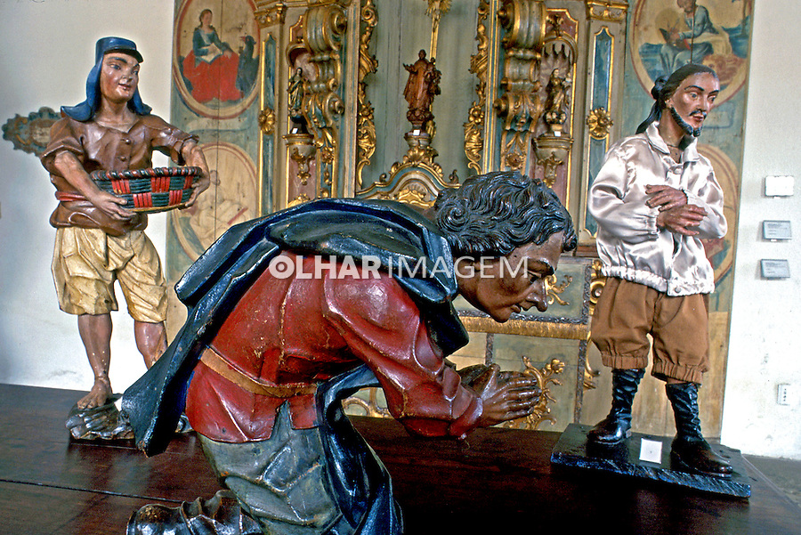 Obras de Aleijadinho em Ouro Preto, Minas Gerais. 2000. Foto:Rogério Reis.