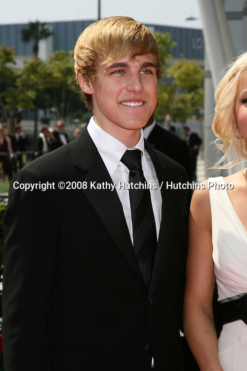 Cody Linley  arriving at the Creative Primetime Emmy Awards at the Nokia Theater, in Los Angeles,  CA on.September 13, 2008.©2008 Kathy Hutchins / Hutchins Photo....