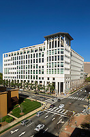 Exterior photography of the Mecklenburg County Courthouse in Downtown/Uptown Charlotte, NC.<br /> <br /> Charlotte Photographer -PatrickSchneiderPhoto.com