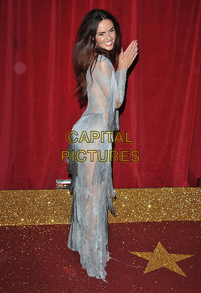 MANCHESTER, ENGLAND - MAY 16: Jennifer Metcalfe attends the British Soap Awards 2015, The Palace Hotel, Oxford Street, on Saturday May 16, 2015 in Manchester, England, UK. <br /> CAP/CAN<br /> &copy;CAN/Capital Pictures