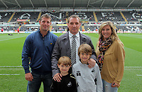 Pictured: Brendan Rodgers. Saturday 07 May 2011<br /> Re: Swansea City FC v Sheffield United, npower Championship at the Liberty Stadium, Swansea, south Wales.
