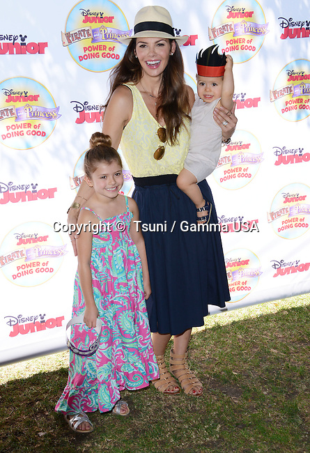 ALI LANDRY + ESTELA + VALENTIN 128  at the Pirate & Princess: Power of Doing Good tour at the Brookside park. in Pasadena.