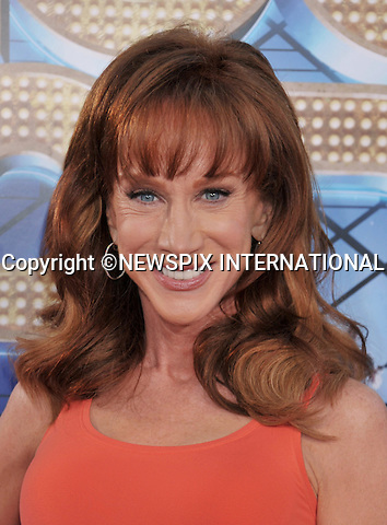 """KATHY GRIFFIN.attends the World Premiere of """"Glee The 3D Concert Movie"""" at the Regency Village Theater, Westwood, Los Angeles_06/08/2011.Mandatory Photo Credit: ©Crosby/Newspix International. .**ALL FEES PAYABLE TO: """"NEWSPIX INTERNATIONAL""""**..PHOTO CREDIT MANDATORY!!: NEWSPIX INTERNATIONAL(Failure to credit will incur a surcharge of 100% of reproduction fees).IMMEDIATE CONFIRMATION OF USAGE REQUIRED:.Newspix International, 31 Chinnery Hill, Bishop's Stortford, ENGLAND CM23 3PS.Tel:+441279 324672  ; Fax: +441279656877.Mobile:  0777568 1153.e-mail: info@newspixinternational.co.uk"""
