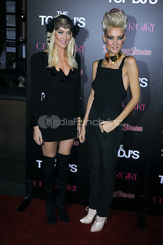 NEW YORK, NY - NOVEMBER 07: Olivia Nervo and Miriam Nervo attend the Rolling Stone & Cover Girl Top DJ's event at TAO on November 7, 2012 in New York City. Credit: mpi01/MediaPunch Inc.
