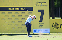 Paul Peterson (USA) in action on the 7th during Round 3 of the Maybank Championship at the Saujana Golf and Country Club in Kuala Lumpur on Saturday 3rd February 2018.<br /> Picture:  Thos Caffrey / www.golffile.ie<br /> <br /> All photo usage must carry mandatory copyright credit (© Golffile | Thos Caffrey)