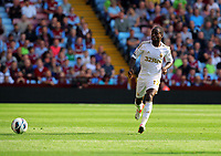 Saturday 15 September 2012<br /> Pictured: Nathan Dyer of Swansea<br /> Re: Barclay's Premier League, Aston Villa v Swansea City FC at Villa Park, West Midlands, UK.
