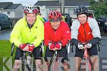BLAST: Taking part in the Chain Gang Cycling Club cycle challenges, The Conor Pass Challenge and The Blasket Blast at the Kerins O'Rahilly's clubhouse on Saturday l-r: Joe Tangney, John Murphy and Jerry McCarthy.