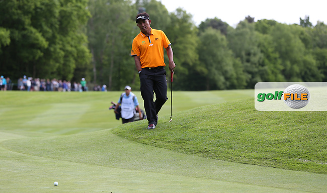 Thongchai Jaidee (THA) shoots a 68 during Round Three of the 2015 BMW PGA Championship over the West Course at Wentworth, Virginia Water, London. 23/05/2015. Picture David Lloyd | www.golffile.ie.