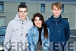 Dylan Brosnahan, Laoise Morrissey and Andrew Tees Brosna at the Con Curtin festival in Brosna on Saturday evening