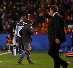 Levante UD's coach Juan F. Ferrer Rubi and Granada CF's coach Jose Ramon Sandoval during La Liga match. December 12, 2015. (ALTERPHOTOS/Javier Comos)