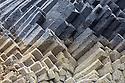 Basalt columns. Isle of Staffa, Inner Hebrides, Scotland, UK.