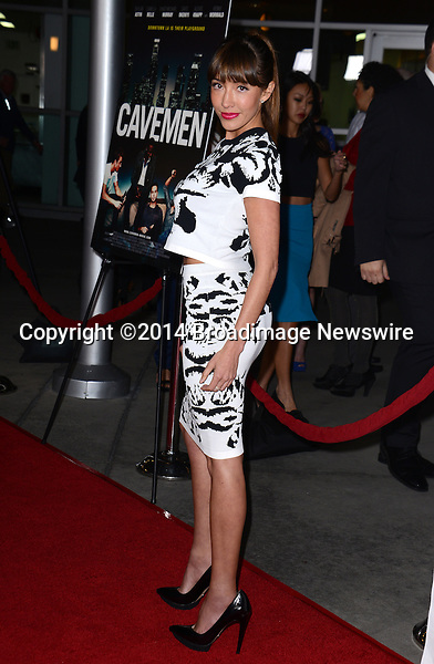 Pictured: Fernanda Romero<br /> Mandatory Credit: Luiz Martinez / Broadimage<br /> CAVEMAN Los Angeles Premiere<br /> <br /> 2/5/14, Hollywood, California, United States of America<br /> Reference: 020514_LMLA_BDG_080<br /> <br /> sales@broadimage.com<br /> Bus: (310) 301-1027<br /> Fax: (646) 827-9134<br /> http://www.broadimage.com