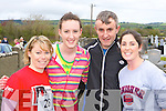 Olivia Fitzgerald, Grainne Dineen, Michael Dineen and Noeleen O'Connor keeping fit at the An Riocht/Kerry Autism fun run in Castleisland on Sunday   Copyright Kerry's Eye 2008