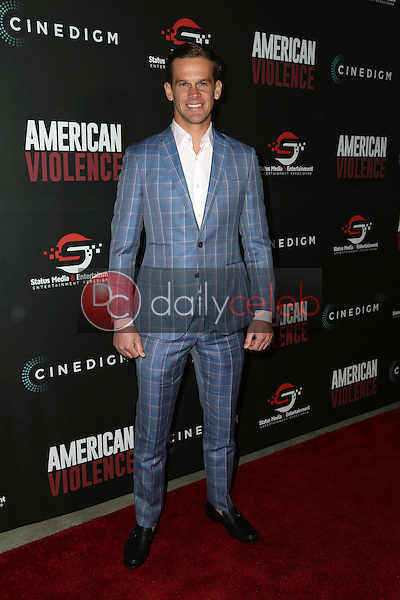"""Nic Lamb<br /> at the """"American Violence"""" World Premiere, Egyptian Theater, Hollywood, CA 01-25-17<br /> David Edwards/DailyCeleb.com 818-249-4998"""
