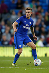 Joe Ralls of Cardiff City during the Championship match at the Cardiff City Stadium, Cardiff. Picture date: August 15th 2017. Picture credit should read: Simon Bellis/Sportimage