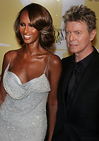 Iman, David Bowie 2005, Photo By John Barrett/PHOTOlink