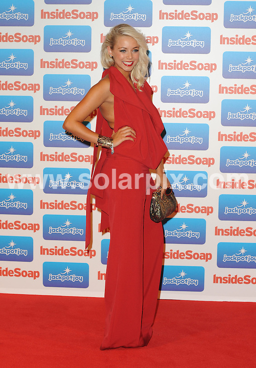 **ALL ROUND PICTURES FROM SOLARPIX.COM**                                             **WORLDWIDE SYNDICATION RIGHTS**                                                                                  Caption: The Inside Soap Awards 2010 at Gilgamesh on September 26, 2010 in London                                                                              This pic:     Sacha Parkinson                                                                                             JOB REF: 14025       LNJ       DATE: 26.09.2011                                                           **MUST CREDIT SOLARPIX.COM OR DOUBLE FEE WILL BE CHARGED**                                                                      **MUST AGREE FEE BEFORE ONLINE USAGE**                               **CALL US ON: +34 952 811 768 or LOW RATE FROM UK 0844 617 7637**