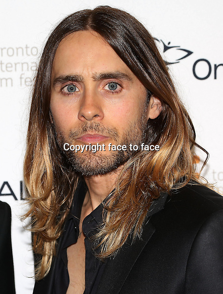 Jared Leto attending the 2013 Tiff Film Festival Red Carpet Gala for &quot;Dallas Buyers Club&quot; at The Princess of Wales Theatre on September 7, 2013 in Toronto, Canada.<br />