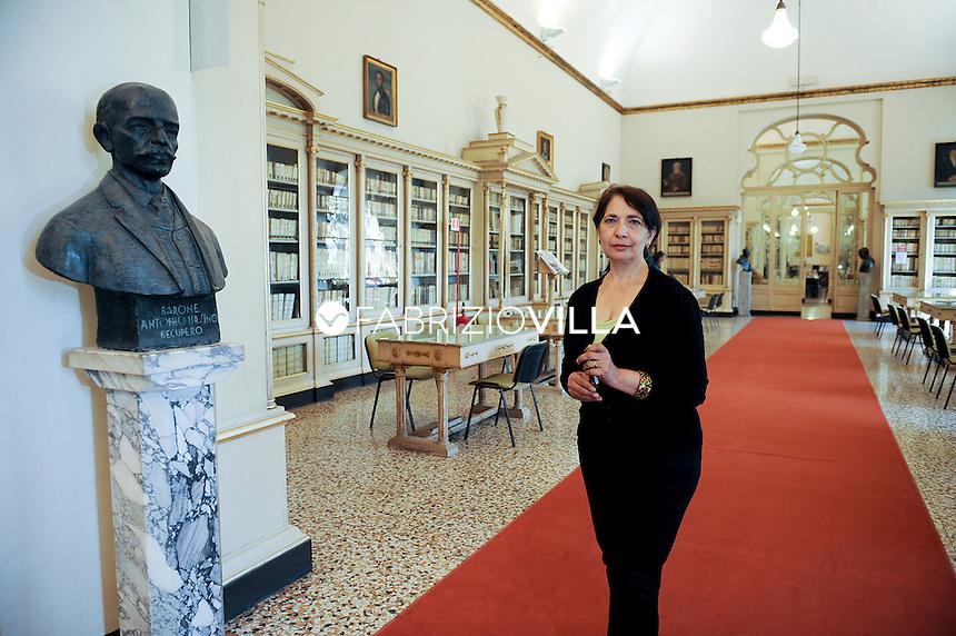 Rita Carbonaro, direttrice della biblioteca Ursino Recupero di Catania.