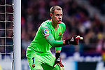 Goalkeeper Marc Ter Stegen of FC Barcelona gestures during the La Liga 2018-19 match between Atletico Madrid and FC Barcelona at Wanda Metropolitano on November 24 2018 in Madrid, Spain. Photo by Diego Souto / Power Sport Images