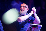 "© Joel Goodman - 07973 332324 . 05/02/2016 . Manchester , UK .  DJ GRAEME PARK . "" Hacienda Classical "" debut at the Bridgewater Hall . The 70 piece Manchester Camerata and performers including New Order's Peter Hook , Shaun Ryder , Rowetta Idah , Bez and Hacienda DJs Graeme Park and Mike Pickering mixing live compositions . Photo credit : Joel Goodman"