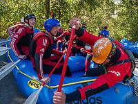 Rafting, Freizeitpark Area 47, &Ouml;tztal-Bahnhof, Imst, Tirol, &Ouml;sterreich, Europa<br /> rafting, outdoor sports park Area 47, &Ouml;tztal-Bahnhof,, Imst, Tyrol, Austria, Europe