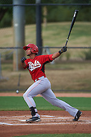 Cincinnati Reds Leandro Santana (51) during an instructional league game against the Los Angeles Dodgers on October 20, 2015 at Cameblack Ranch in Glendale, Arizona.  (Mike Janes/Four Seam Images)