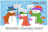 Kate, CHRISTMAS SANTA, SNOWMAN, WEIHNACHTSMÄNNER, SCHNEEMÄNNER, PAPÁ NOEL, MUÑECOS DE NIEVE, paintings+++++Christmas page 74 1,GBKM204,#x#