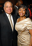 Lora and John Clemmons at the Houston Museum of African American Culture held at the Ensemble Theater Thursday Oct. 22,2009. (Dave Rossman/For the Chronicle)