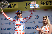 Tim Wellens (BEL/Lotto-Soudal) is the new Polka Dot Jersey / KOM leader<br /> <br /> Stage 3: Binche (BEL) to Épernay (FRA) (214km)<br /> 106th Tour de France 2019 (2.UWT)<br /> <br /> ©kramon
