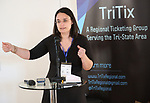 Kelly Brennan (TriTix Leadership) during the 2019 TRITIX Forum at Arts West Building on September 19, 2019 in New York City.