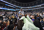 David Ross (Cubs),<br /> NOVEMBER 2, 2016 - MLB :<br /> David Ross of the Chicago Cubs celebrates after winning the Major League Baseball World Series Game 7 against the Cleveland Indians at Progressive Field in Cleveland, Ohio, United States. (Photo by AFLO)