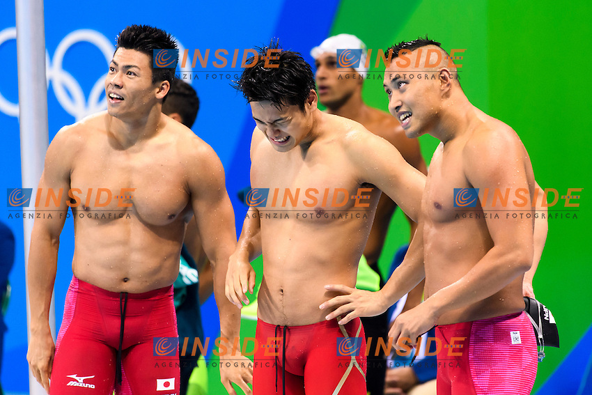 JAPAN 4x100m Freestyle Relay <br /> Rio de Janeiro 07-08-2016 Olympic Aquatics Stadium <br /> Swimming Nuoto <br /> Foto Andrea Staccioli/Deepbluemedia/Insidefoto