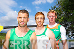 Olympic rowers  Paul Griffin, Cathal Moynihan, Sean Casey,