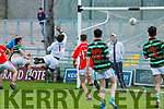 East Kerry's first goal against  St Brendans in the Minor Football Final at Austin Stack Park on Saturday.