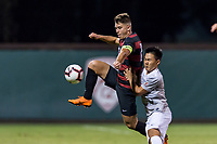 Stanford Soccer M vs University of the Pacific, September 20, 2018