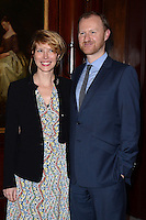 Julia Davis and Mark Gattiss attends the London Lesbian & Gay Switchboard - 40th birthday gala at Waldorf Hilton, Aldwych in London. 06/03/2014 Picture by: Jim Pearson / Featureflash