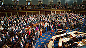 Members of the United States House of Representatives the oath of office on the floor of the US House during the opening day session of the 115th Congress in the US Capitol in Washington, DC on Tuesday, January 3, 2017.<br /> Credit: Ron Sachs / CNP<br /> (RESTRICTION: NO New York or New Jersey Newspapers or newspapers within a 75 mile radius of New York City)