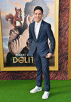 "LOS ANGELES, USA. January 11, 2020: Harry Collet at the premiere of ""Dolittle"" at the Regency Village Theatre.<br /> Picture: Paul Smith/Featureflash"