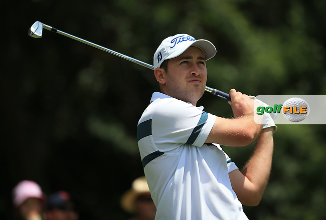 Daniel Brooks (ENG) calm and collected during Round Three of the 2016 BMW SA Open hosted by City of Ekurhuleni, played at the Glendower Golf Club, Gauteng, Johannesburg, South Africa.  09/01/2016. Picture: Golffile   David Lloyd<br /> <br /> All photos usage must carry mandatory copyright credit (&copy; Golffile   David Lloyd)