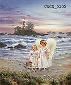 Dona Gelsinger, CHILDREN, paintings(USGE0102,#K#) Kinder, niños, illustrations, pinturas angels, ,everyday