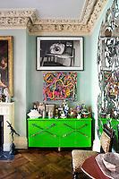 light green cabinet