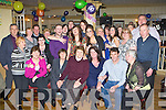 Sheila Breen Gortnascarry, Killorglin seated centre who celebrated her birthday in Bunkers bar Killorglin on Saturday night